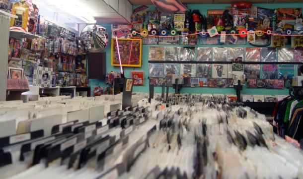 Rock Roll Heaven Jukebox 45s